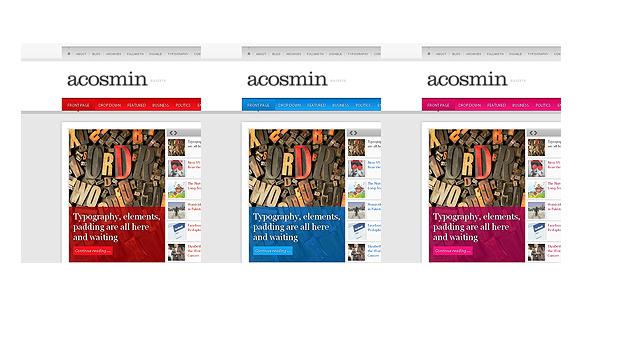 Acosmingazzete Acosmin WordPress Theme