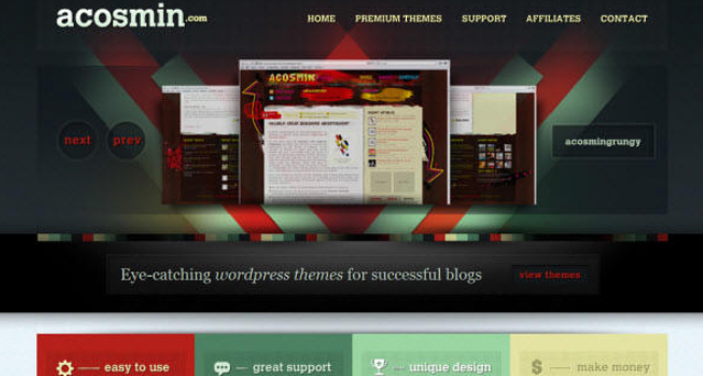 Acosmingrungy Acosmin WordPress Theme