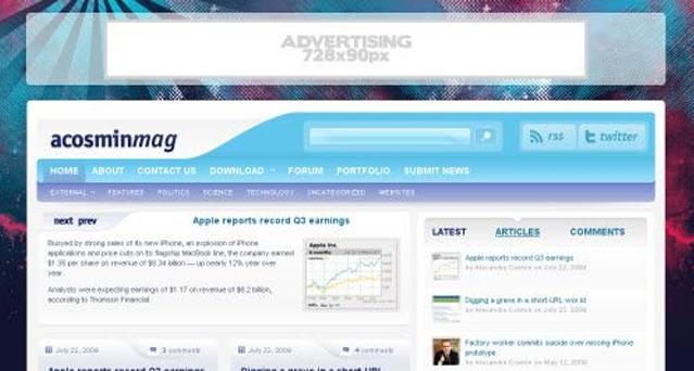 Acosminmag Acosmin WordPress Theme
