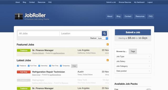 JobRoller-AppThemes-WordPress-Theme