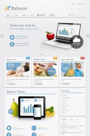 Balance Yootheme WordPress Theme