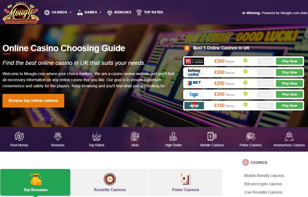 Online Casino Mougle