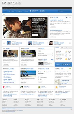 Revista Yootheme WordPress Theme